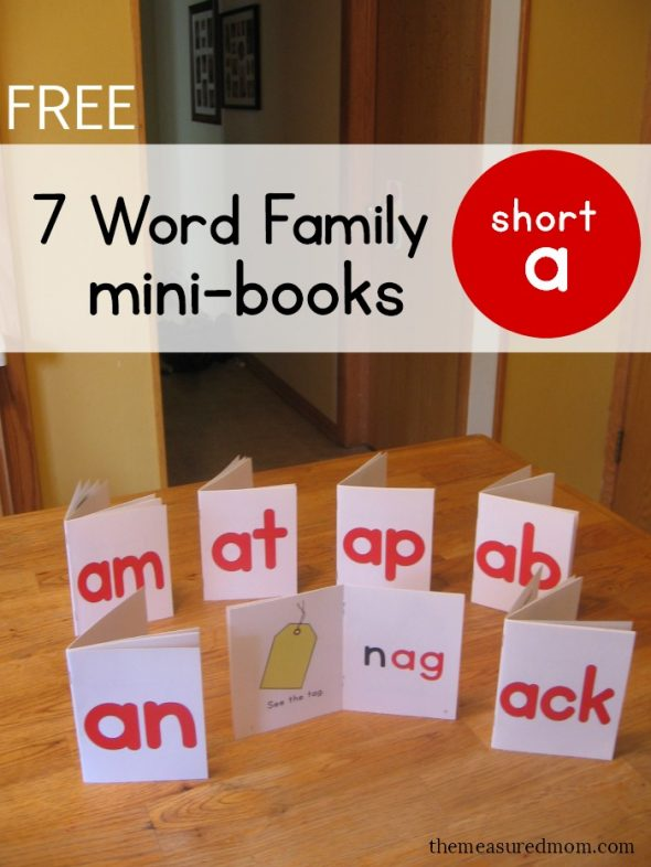 photo relating to Word Family Printable named Find out towards go through term people with this kind of free of charge publications! - The