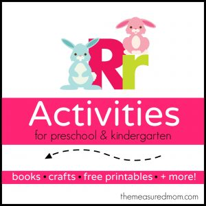 Letter R Activities - the measured mom