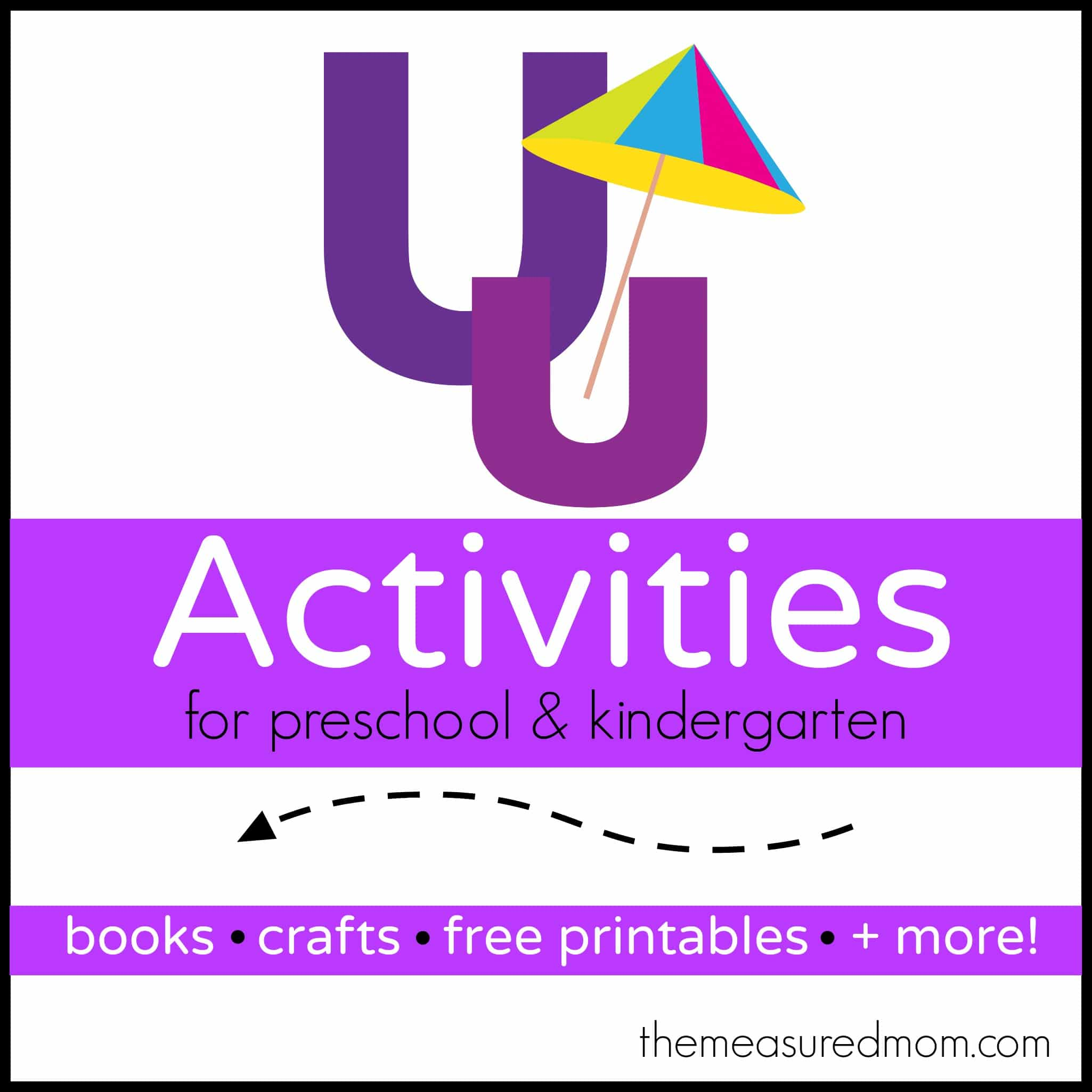 Letter U Activities - The Measured Mom