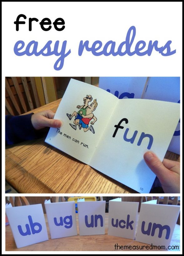 free easy readers for short u