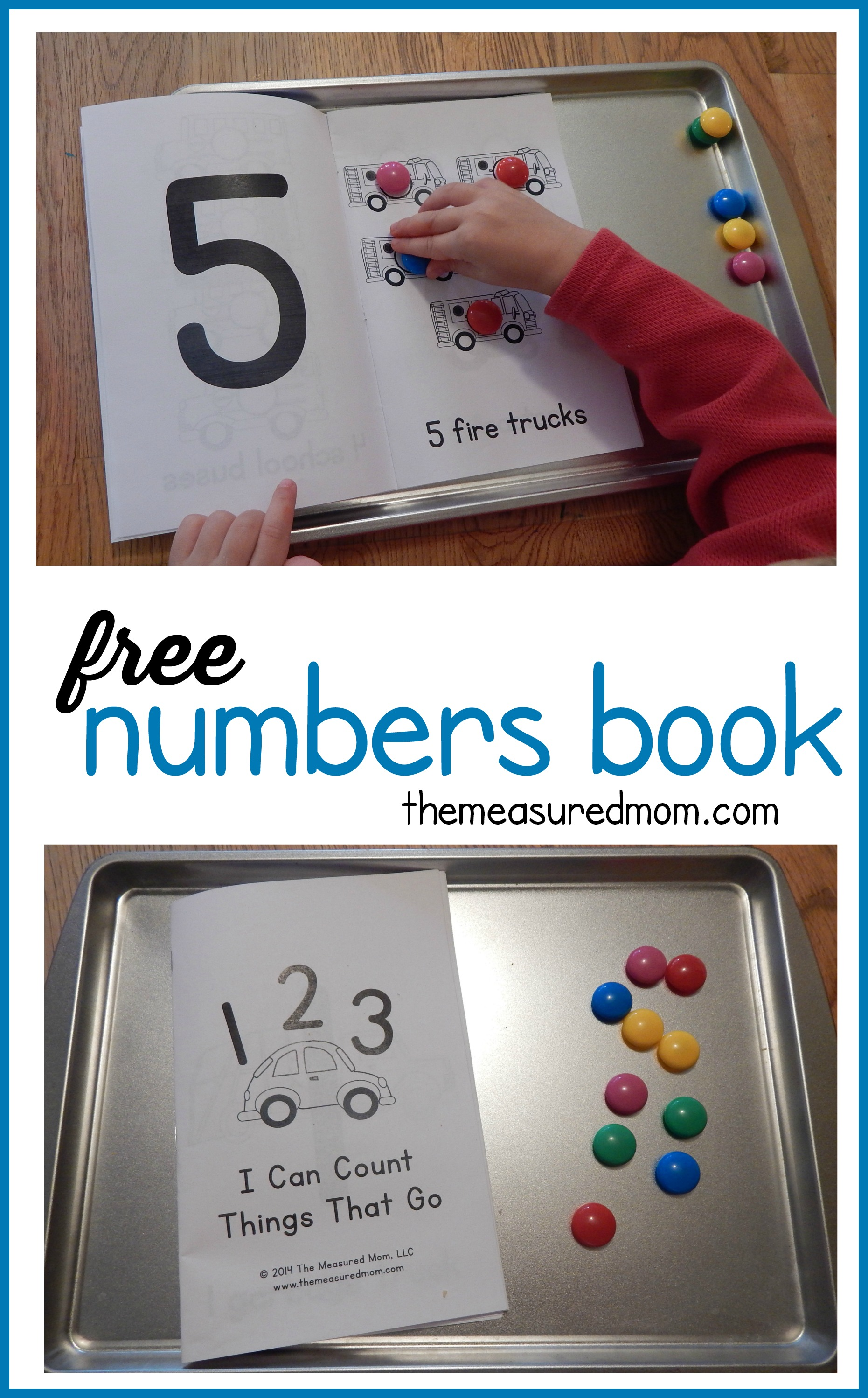 free numbers book for kids ages 2 5 the measured mom