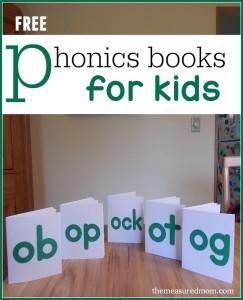 More free phonics books! (set 3)