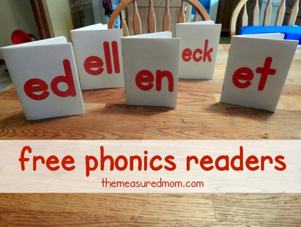free phonics readers short e