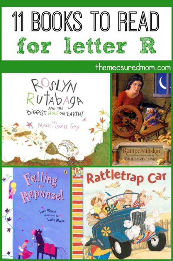 These books are perfect to read alongside letter R activities. My preschooler can't get enough of Rattletrap Car!
