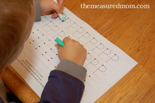 Creative Ways To Write Letters creative ways to write letter p - the measured mom