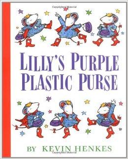 lily's purple plastic purse
