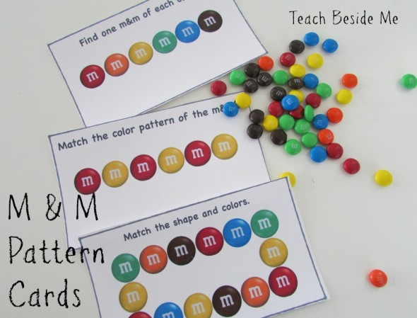 Looking for pattern activities for kindergarten or preschool? Find 15 simple and fun pattern activities... with free printables!