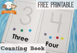 Free numbers book for kids ages 2-5 - The Measured Mom