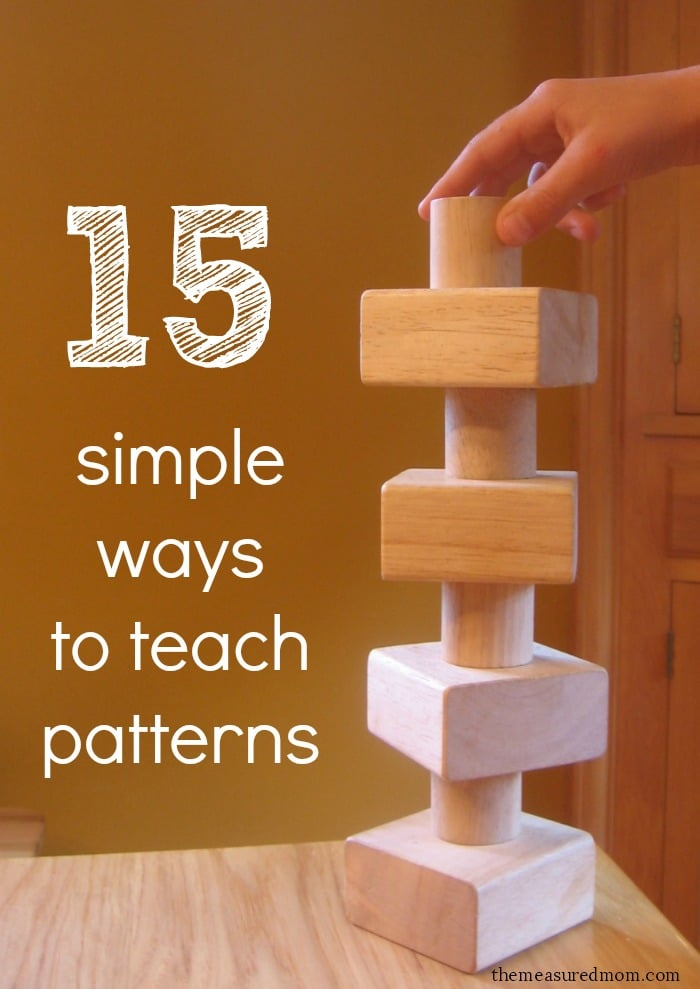 15 Simple And Cute Hairstyle Tutorials: 15 Simple Ways To Teach Patterns To Preschoolers