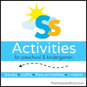 Letter S Activities - the measured mom