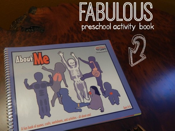 all about me preschool activity book
