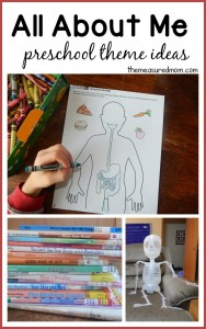 All about me!  (fabulous science activities from Our Time to Learn)