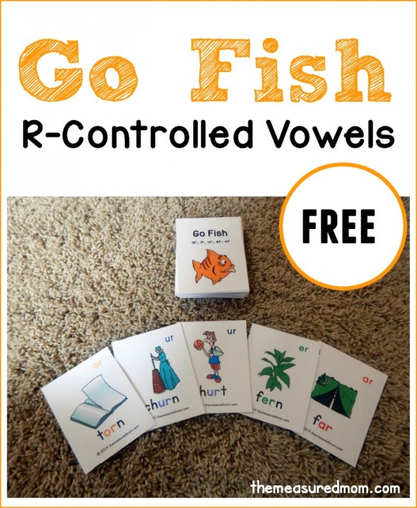 My early reader LOVED this r controlled vowels activity. We played it three times in a row!