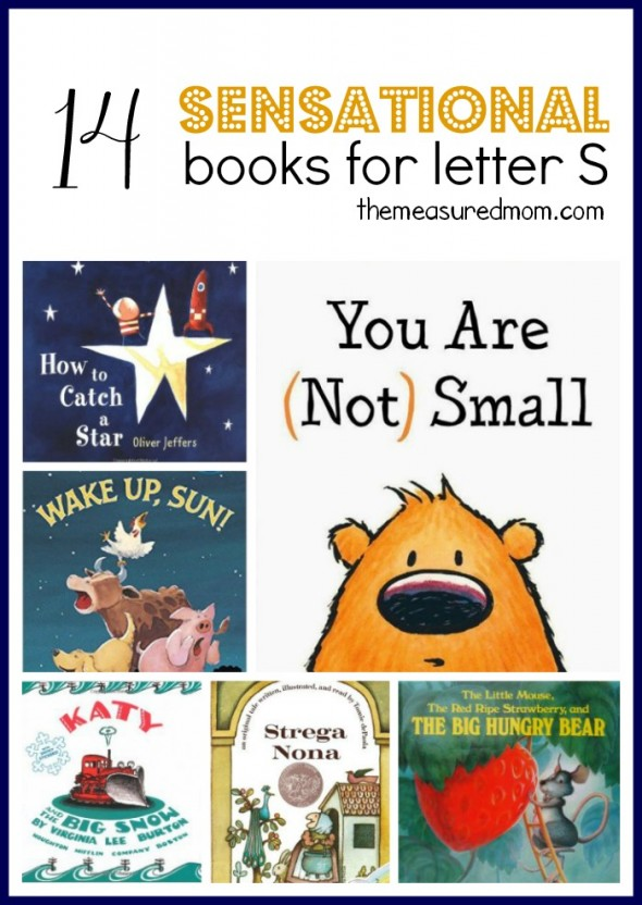 These books are perfect to read alongside letter S activities for preschool!  I love the classics in this list.