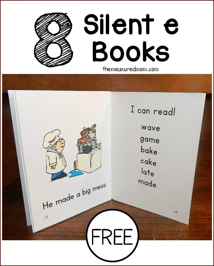 silent e books1 - Phonics Books For Kindergarten
