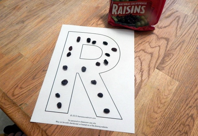 the letter R 1