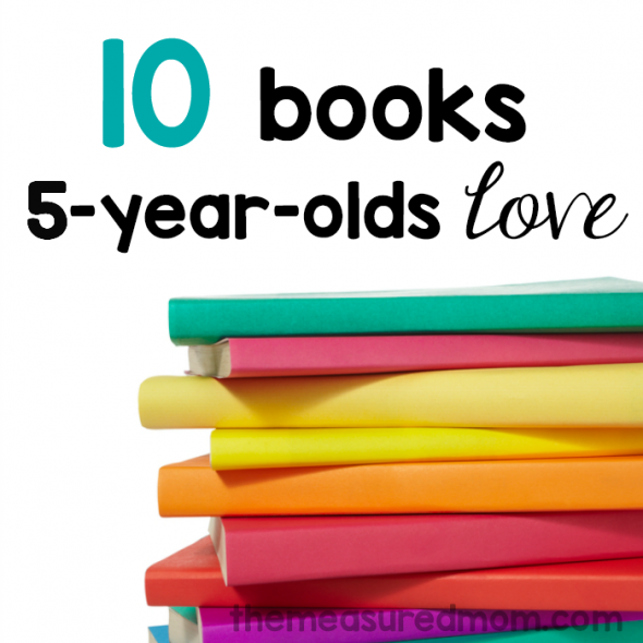10 books 5-year-olds love 2