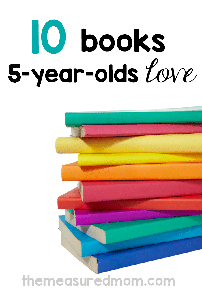 10 of the best books for 5-year-olds - The Measured Mom
