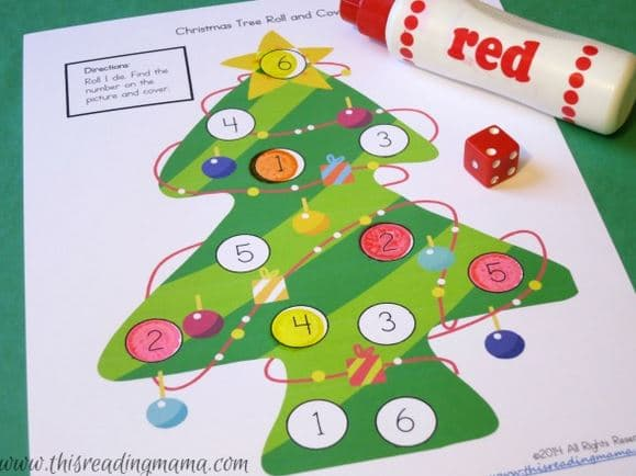 So many printable Christmas games for kids!