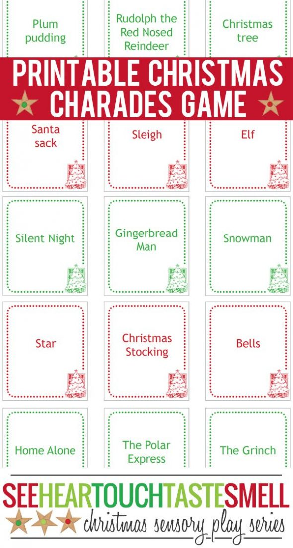 graphic regarding Free Printable Christmas Games for Adults named 40+ totally free printable Xmas game titles for young children - The Calculated Mother