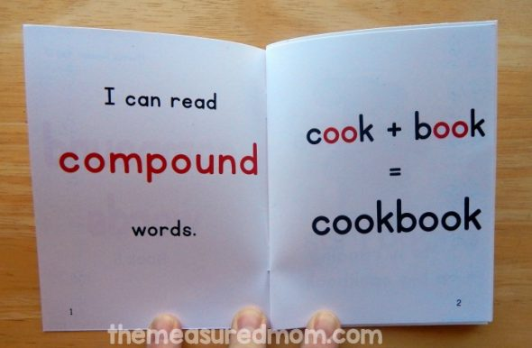 Teach kids to read compound words with these five FREE books!