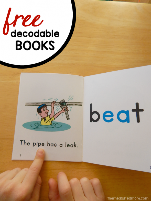image relating to Printable Decodable Books for First Grade titled Absolutely free printable publications for ea, oa, ow, and ie phrases - The