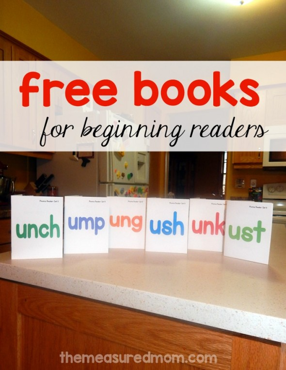 Get this free set of phonics readers for reading ush, unch, ump, ust, ung, and unk words!