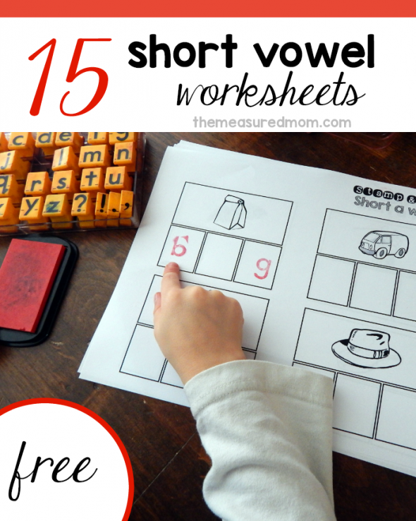 Free Short Vowel Worksheets St Spell The Measured Mom. Your Child Can Use A Pencil Alphabet Sts Or Letter Tiles To Spell The. Worksheet. Short Vowels Worksheets At Mspartners.co