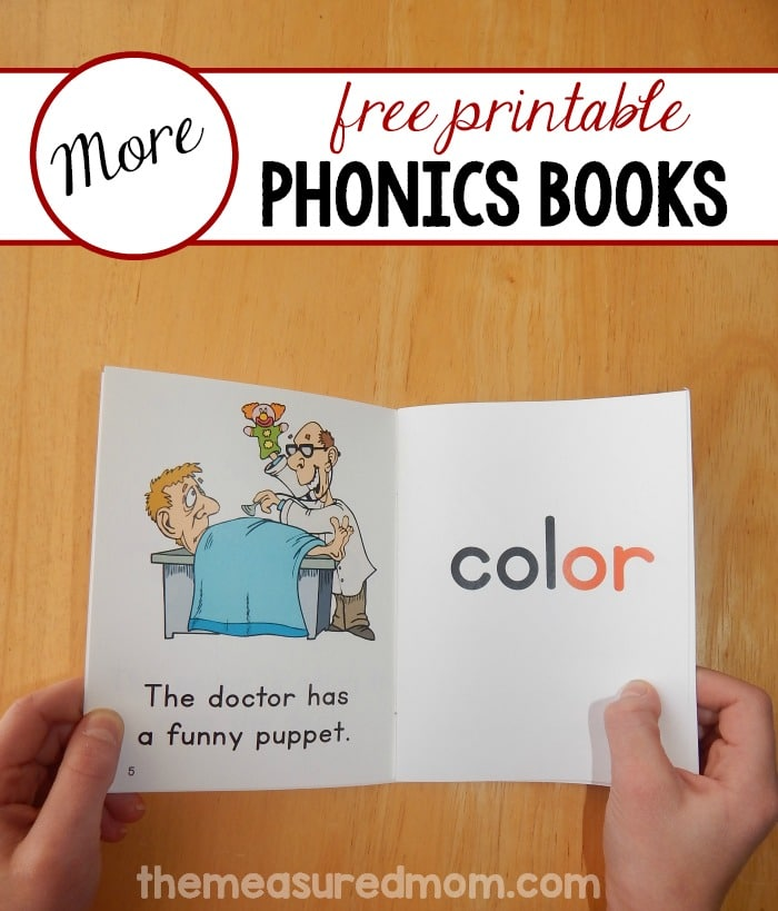 Print and assemble these free phonics books to help your child learn to read two syllable words!