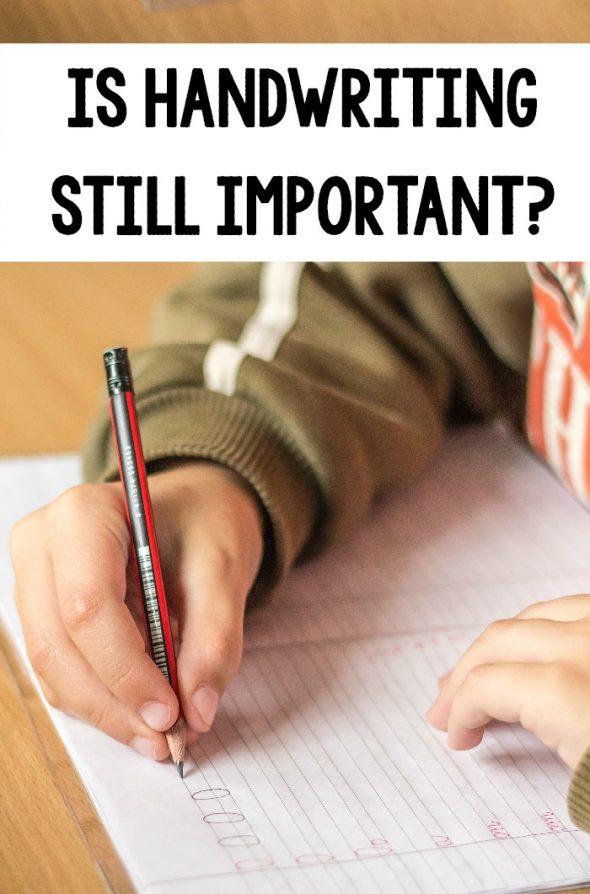 is handwriting still important