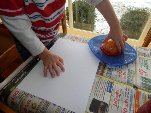 letter A art 1