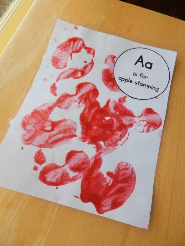 letter A art 3