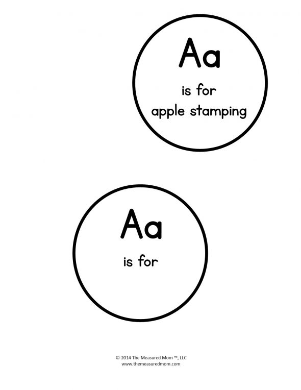 letter a project