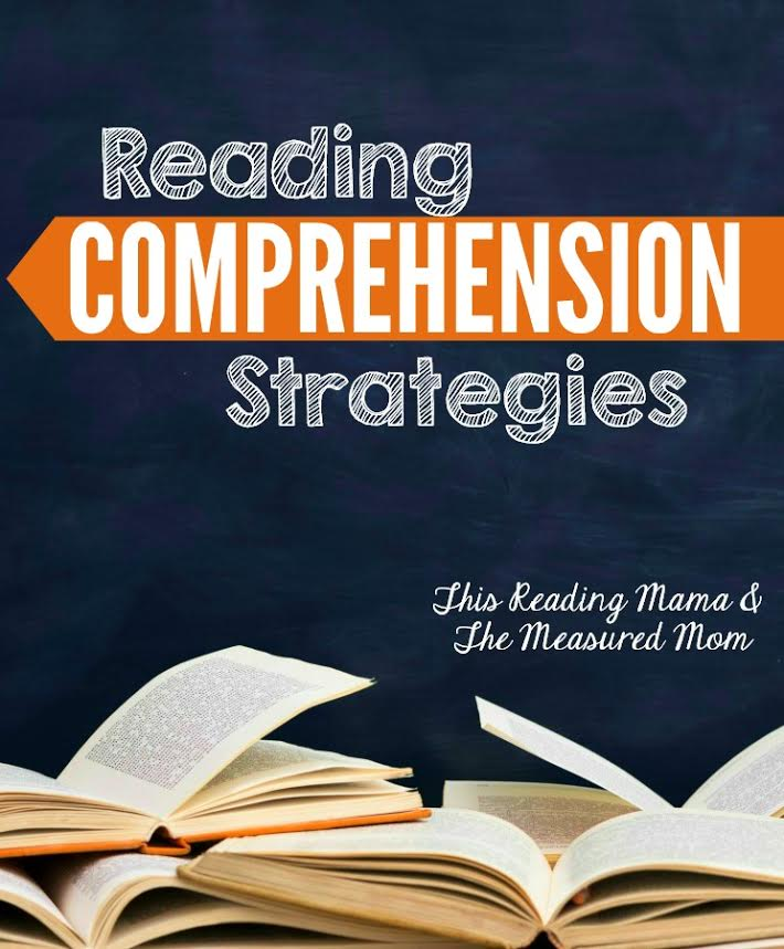 This series of reading comprehension strategies will help you teach reading comprehension at home or in the classroom. Plus, the nine lessons come with free reading comprehension worksheets!