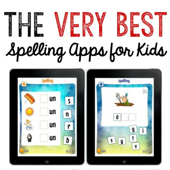 very best spelling apps for kids facebook image