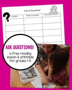 Questioning: A reading strategy for kids