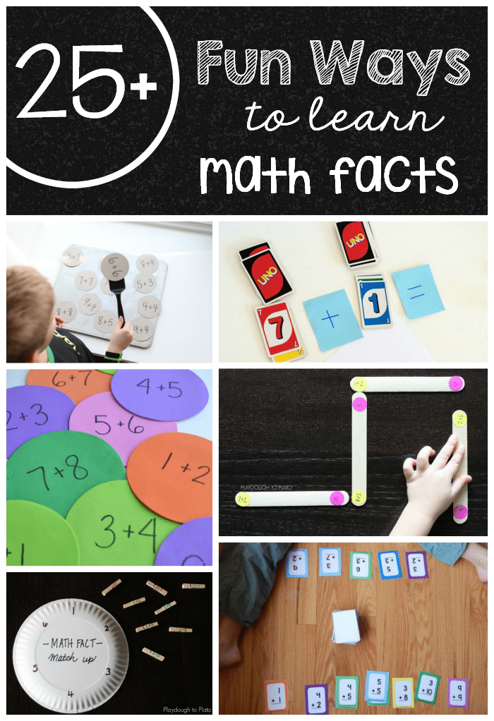 25+ fun ways to learn math facts - The Measured Mom