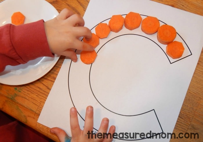 If you're looking for letter C activities for preschool, you'll love this peek at our week of fun, hands-on alphabet activities. Get free printables, too!