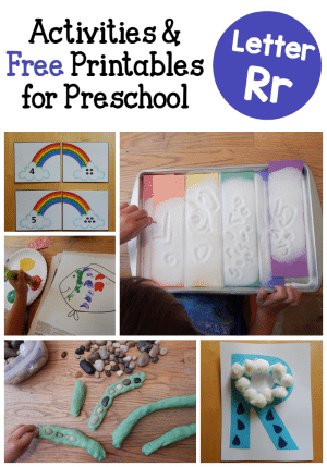These 3-year-old activities are great for learning the alphabet!