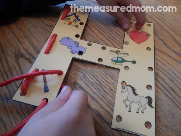 Letter H Activities for Preschoolers   The Measured Mom