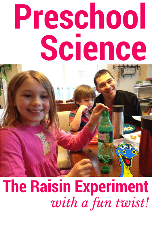 preschool science dancing raisins experiment