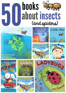 Books about insects and spiders