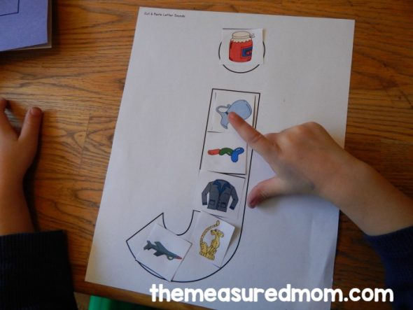 April Coloring Pages Preschool : Letter j activities for preschool the measured mom