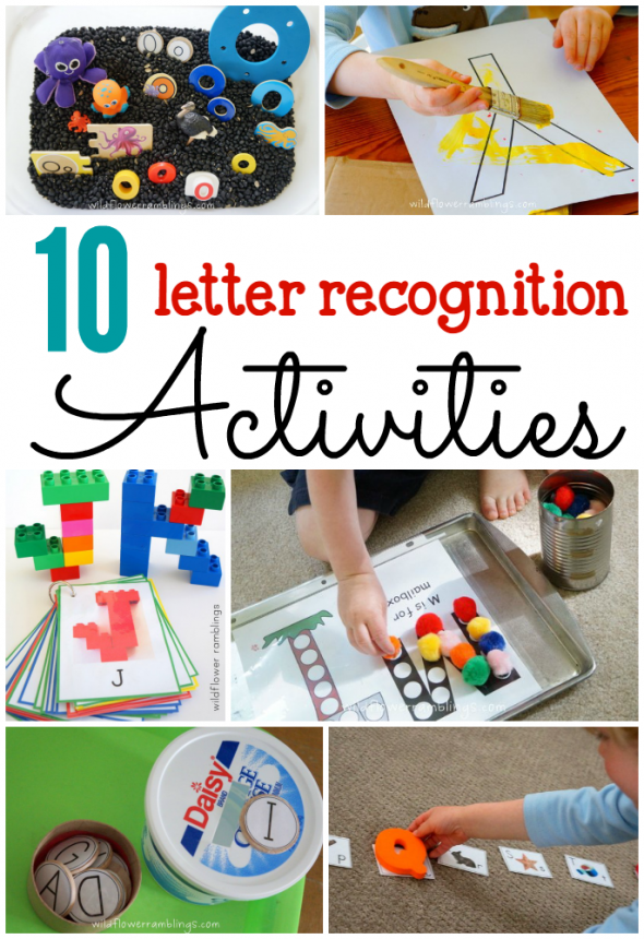 photograph regarding Letter Recognition Games Printable known as 10 Letter reputation actions - The Calculated Mother