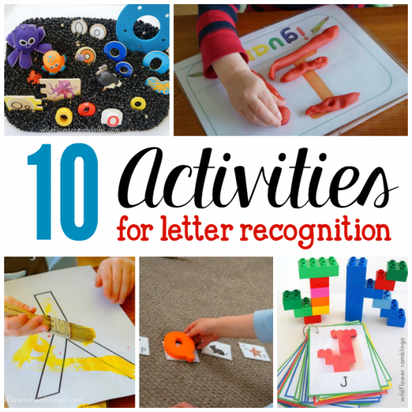 activities for letter recognition square image