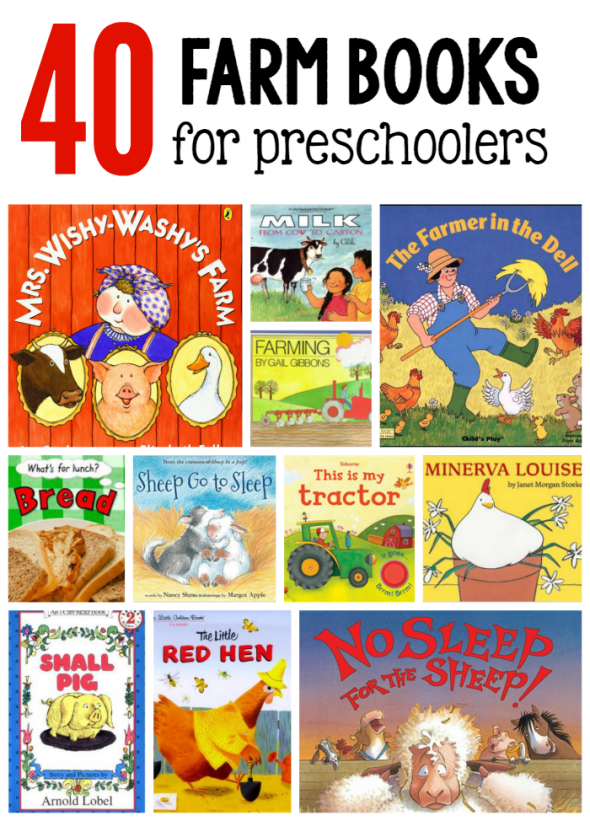 Farm Books For Preschoolers The Measured Mom