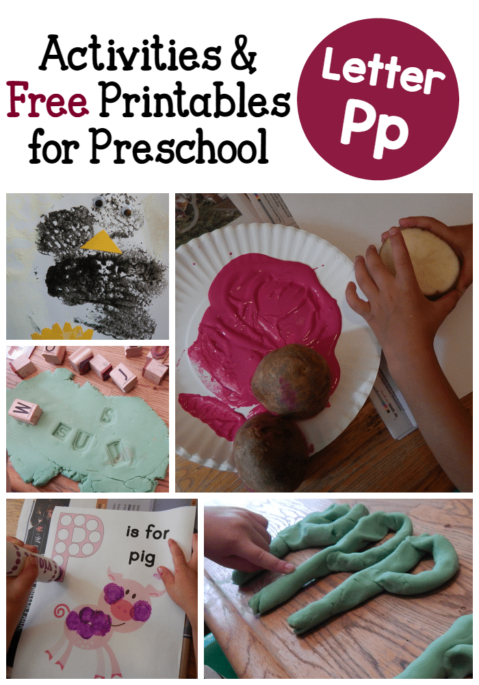 letter p crafts the measured letter p activities for preschool the measured 979