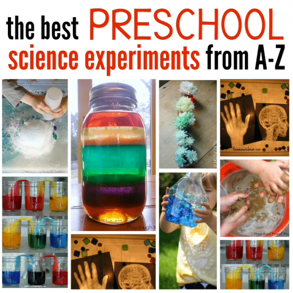 The Best Science Experiments For Preschoolers The