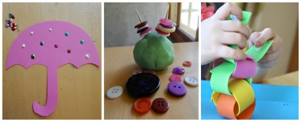 These fine motor activities for preschoolers are simple and easy to prepare - love!