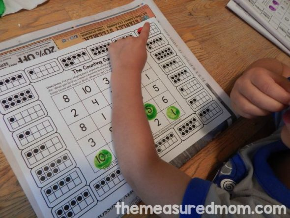 free counting games for k 2 the measured mom